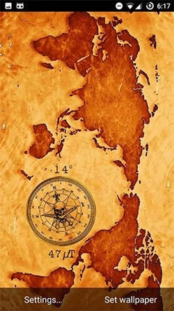 Compass Android Wallpaper Image 1