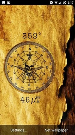 Compass Android Wallpaper Image 2