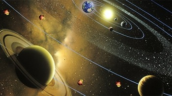 Solar System 3D Android Wallpaper Image 1