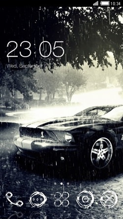 Mustang CLauncher Android Theme Image 1