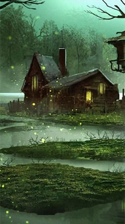 Fireflies Android Wallpaper Image 1