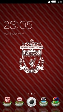 Liverpool CLauncher Android Theme Image 1