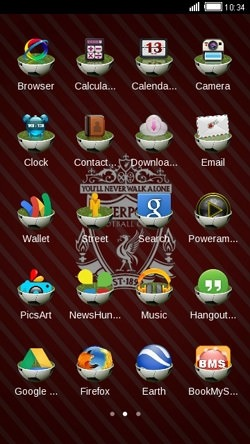 Liverpool CLauncher Android Theme Image 2