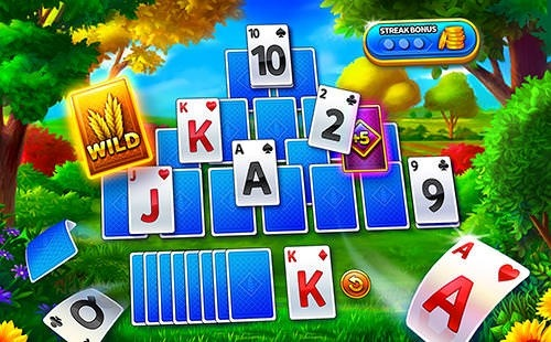 Solitaire: Grand Harvest Android Game Image 2