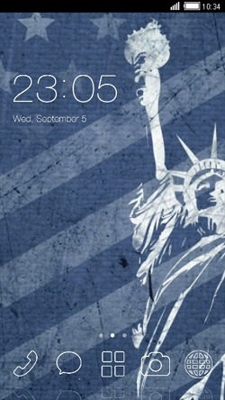 Statue Of Liberty CLauncher Android Theme Image 1
