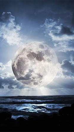 The Moon Paradise Android Wallpaper Image 1