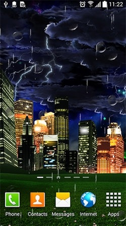 Thunderstorm Android Wallpaper Image 3