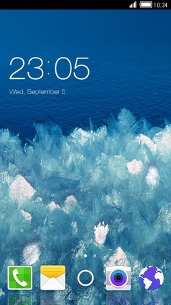 Ice CLauncher Android Theme Image 1
