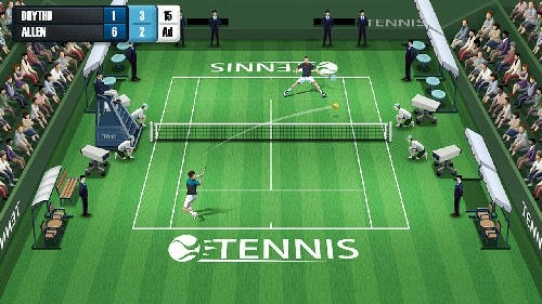 Pocket Tennis League Android Game Image 2