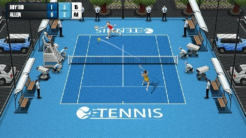 Pocket Tennis League Android Game Image 3