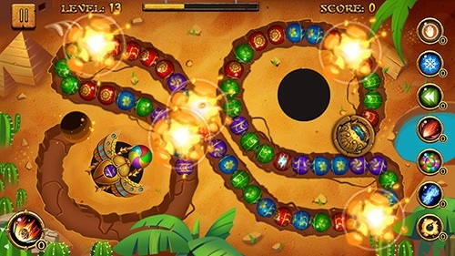 Jungle Marble Blast Android Game Image 3