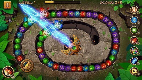Jungle Marble Blast Android Game Image 4