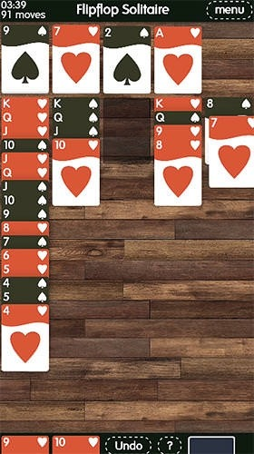 Flipflop Solitaire Android Game Image 2