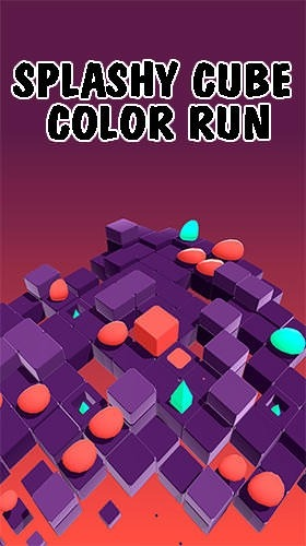 Splashy Cube: Color Run Android Game Image 1