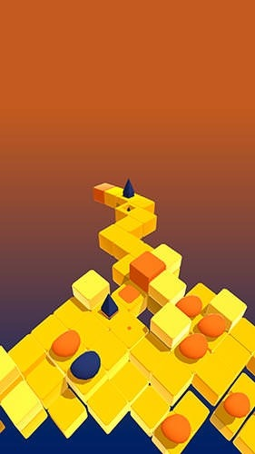 Splashy Cube: Color Run Android Game Image 2