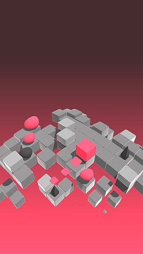 Splashy Cube: Color Run Android Game Image 3