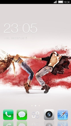 Dance CLauncher Android Theme Image 1