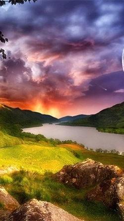 Beautiful Lake Android Wallpaper Image 1