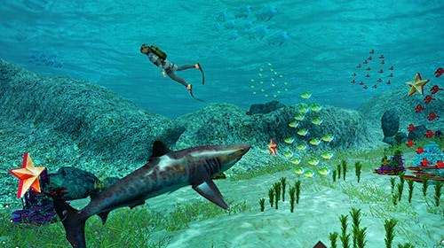 Shark Simulator 2018 Android Game Image 2
