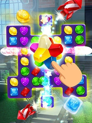 Wonka's World Of Candy: Match 3 Android Game Image 2