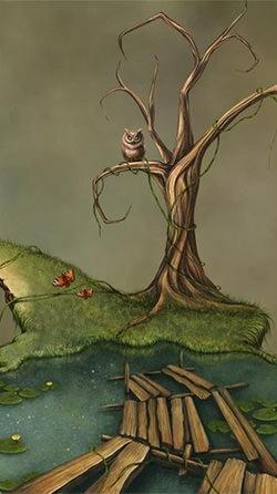 Fantasy Swamp Android Wallpaper Image 3