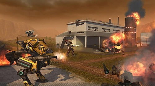 WWR: World Of Warfare Robots Android Game Image 2