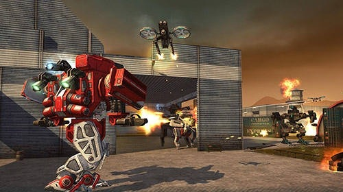 WWR: World Of Warfare Robots Android Game Image 3