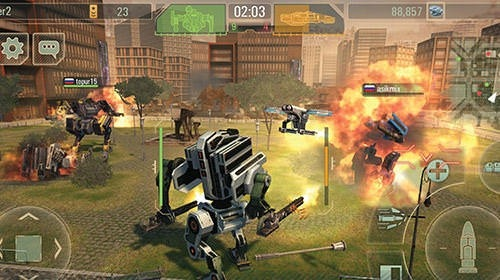 WWR: World Of Warfare Robots Android Game Image 4