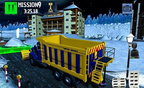 Winter Ski Park: Snow Driver Android Game Image 2