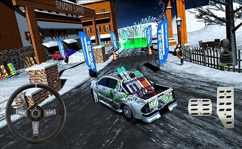 Winter Ski Park: Snow Driver Android Game Image 3