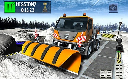 Winter Ski Park: Snow Driver Android Game Image 4