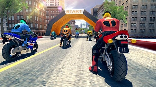 Bike Racing Rider Android Game Image 2