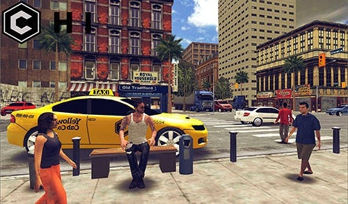 Open World Driver: Taxi Simulator 3D Free Racing Android Game Image 3