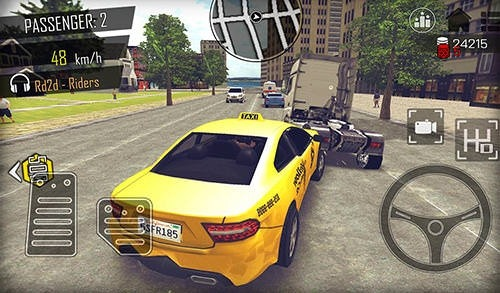 Open World Driver: Taxi Simulator 3D Free Racing Android Game Image 4