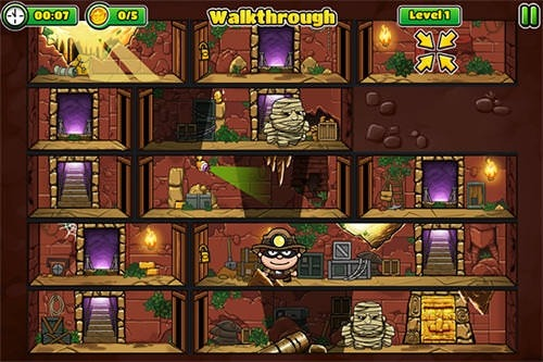 Bob The Robber 5: The Temple Adventure Android Game Image 2