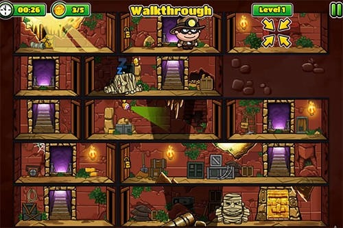 Bob The Robber 5: The Temple Adventure Android Game Image 3