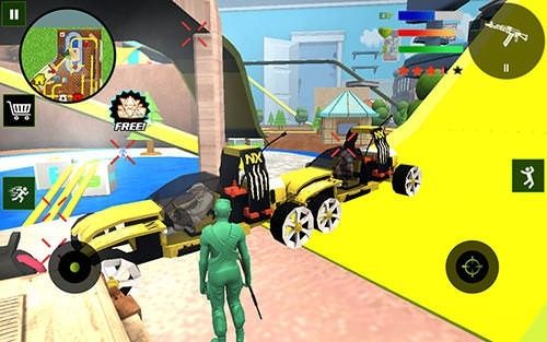 Army Toys Town Android Game Image 2