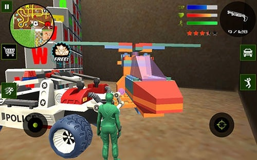Army Toys Town Android Game Image 3