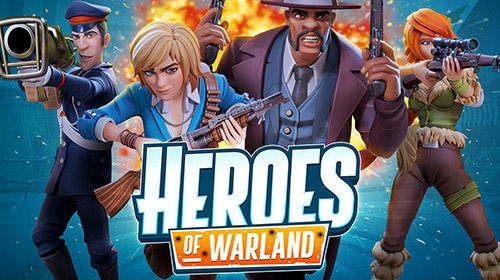 Heroes Of Warland: PvP Shooting Arena Android Game Image 1