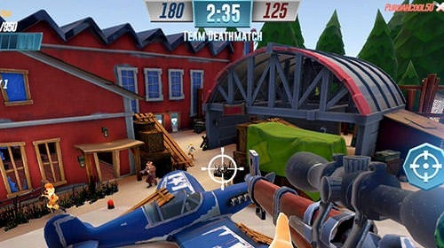 Heroes Of Warland: PvP Shooting Arena Android Game Image 4