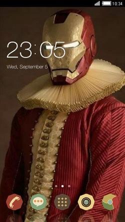 Iron Santa CLauncher Android Theme Image 1