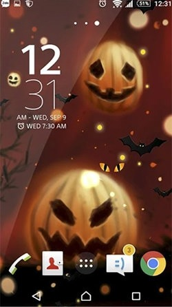 Halloween Android Wallpaper Image 2