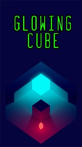 Glowing Cube Android Game Image 1