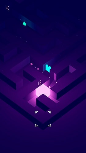 Glowing Cube Android Game Image 3
