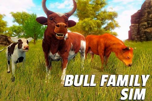 Bull Family Simulator: Wild Knack Android Game Image 1