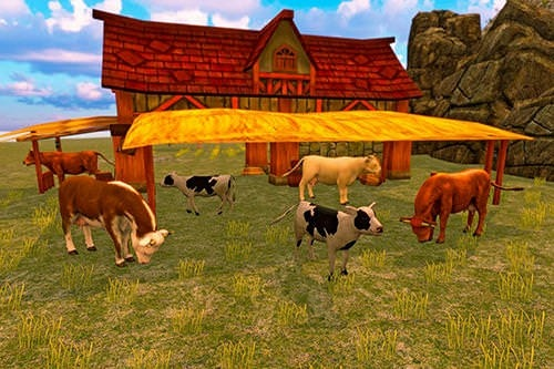 Bull Family Simulator: Wild Knack Android Game Image 2