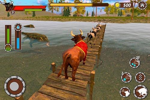 Bull Family Simulator: Wild Knack Android Game Image 3