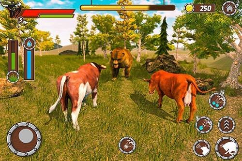 Bull Family Simulator: Wild Knack Android Game Image 4