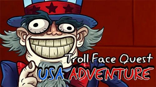 Troll Face Quest: USA Adventure Android Game Image 1