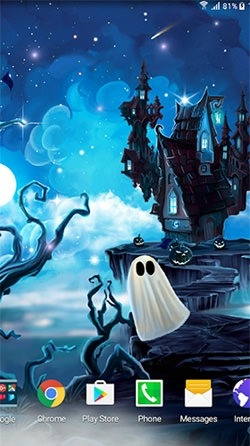 Halloween Android Wallpaper Image 1